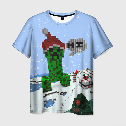 Мужская футболка 3D Minecraft от Всемайки