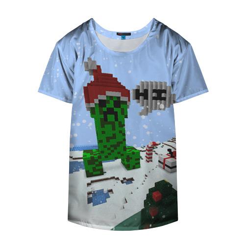 Накидка на куртку 3D Minecraft Фото 01