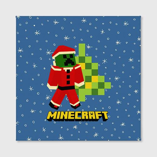 Холст квадратный Minecraft Фото 01