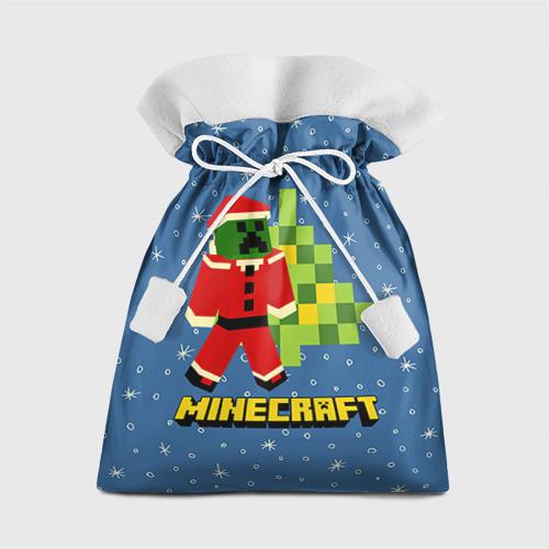 Подарочный 3D мешок Minecraft