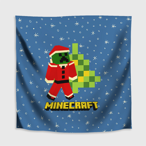 Скатерть 3D Minecraft Фото 01