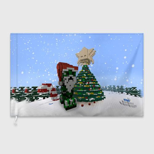 Флаг 3D  Фото 03, Minecraft