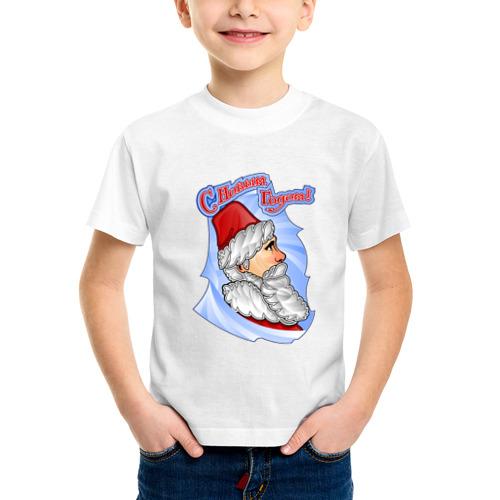 Детская футболка синтетическая С новым годом от Всемайки