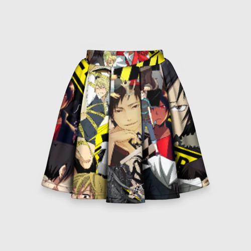 Детская юбка-солнце 3D Durarara