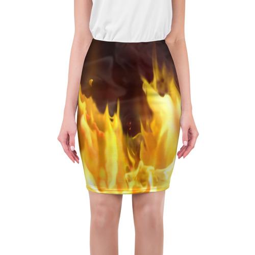 Юбка 3D Огонь
