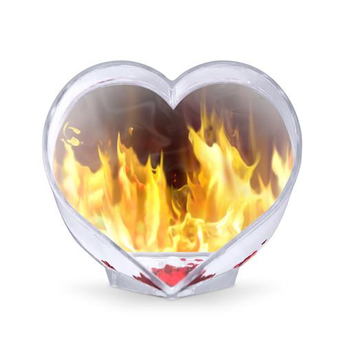 Сувенир Сердце  Фото 01, Огонь