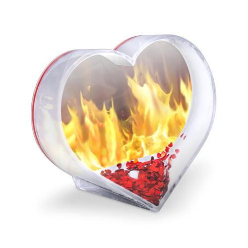 Сувенир Сердце  Фото 03, Огонь