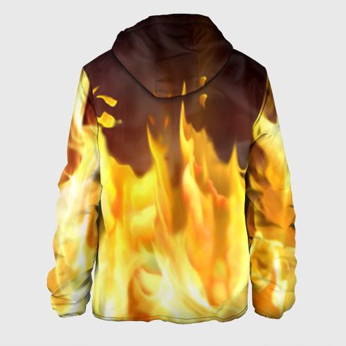 Мужская куртка 3D  Фото 02, Огонь