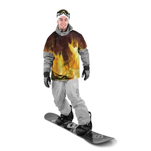 Накидка на куртку 3D  Фото 03, Огонь