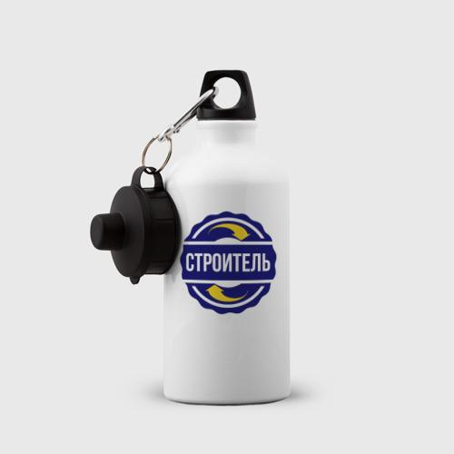 Бутылка спортивная  Фото 03, Эмблема - строитель