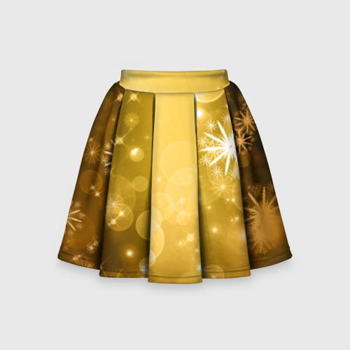 Детская юбка-солнце 3D Новый год