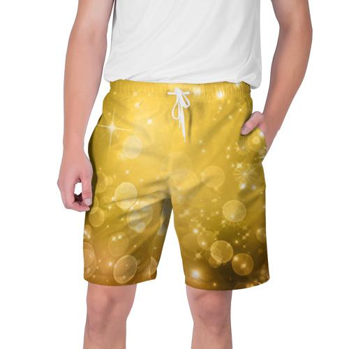 Мужские шорты 3D Новый год