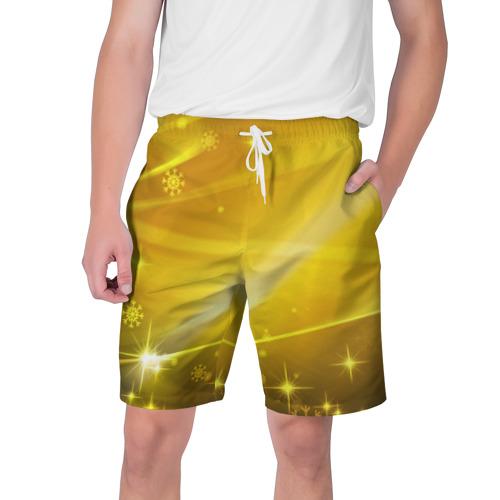 Мужские шорты 3D Зимняя сказка