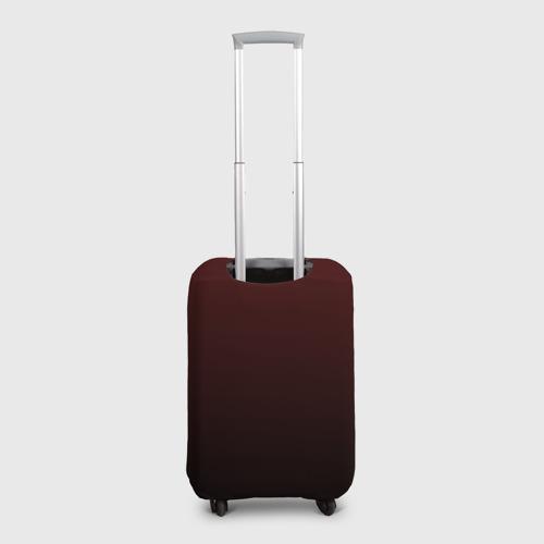 Чехол для чемодана 3D Дед мороз рокер Фото 01