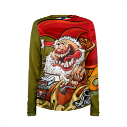 Дед мороз рокер