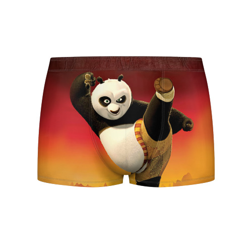 Мужские трусы 3D Кунг фу панда Фото 01