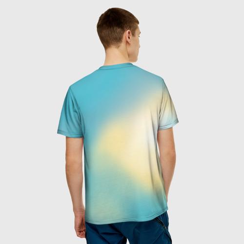 Мужская футболка 3D  Фото 02, Кунг фу панда