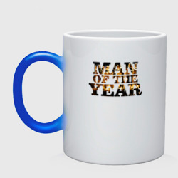 Man oh the year