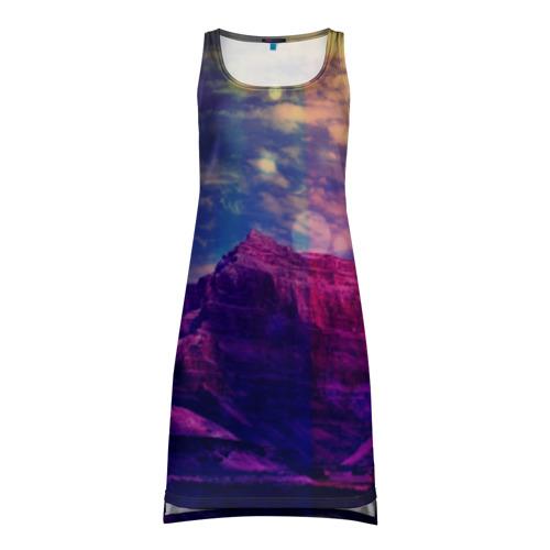 Платье-майка 3D Горы
