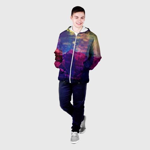 Мужская куртка 3D  Фото 03, Горы