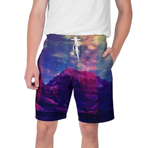 Мужские шорты 3D Горы