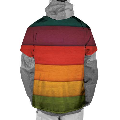 Накидка на куртку 3D  Фото 02, Colored fence
