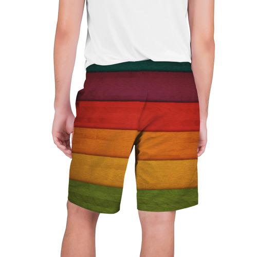 Мужские шорты 3D  Фото 02, Colored fence