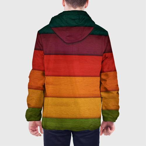 Мужская куртка 3D  Фото 05, Colored fence