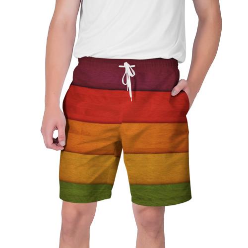 Мужские шорты 3D Colored fence