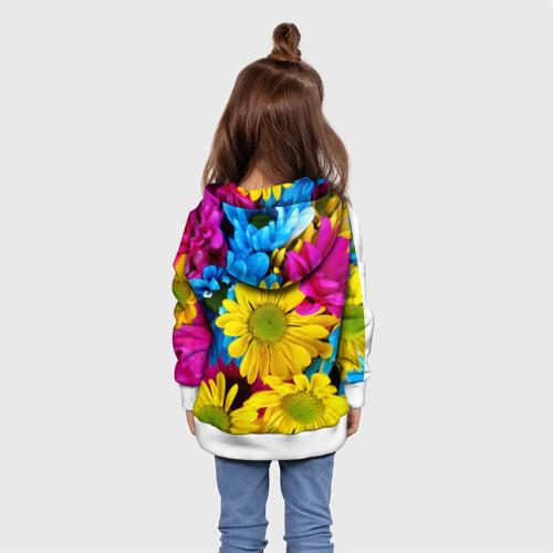 Детская толстовка 3D  Фото 02, Цветы