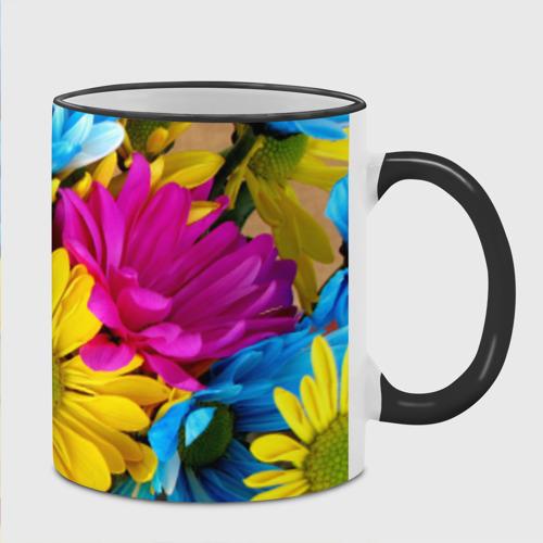 Кружка с полной запечаткой  Фото 02, Цветы