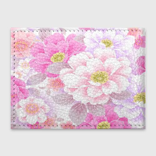 Обложка для студенческого билета  Фото 02, Цветы