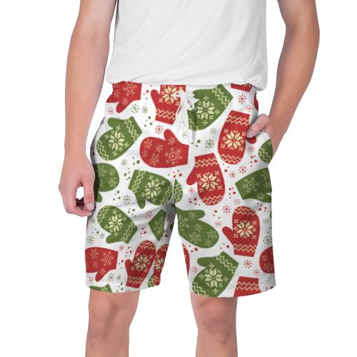 Мужские шорты 3D Варежки