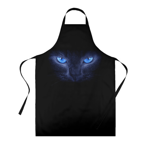 Фартук 3D Кошка с голубыми глазами