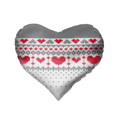Подушка 3D сердце  Фото 02, Сердечки