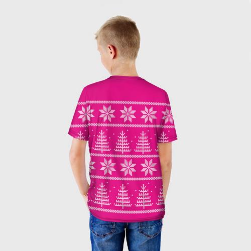 Детская футболка 3D Олени в горах Фото 01