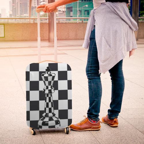 Чехол для чемодана 3D Ферзь Фото 01