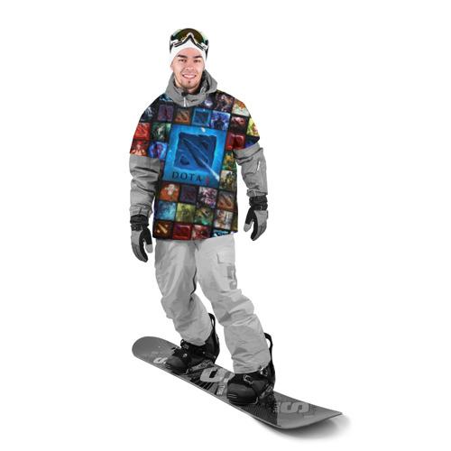 Накидка на куртку 3D  Фото 03, Dota 2 коллаж  логотип
