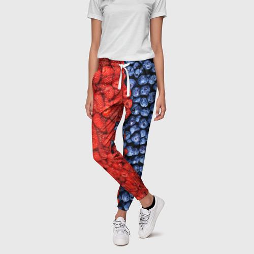 Женские брюки 3D  Фото 01, Ягодка