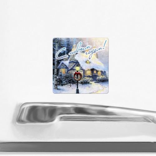 Магнит виниловый Квадрат  Фото 02, Новый год