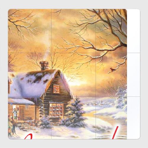 Магнитный плакат 3Х3 Новый год