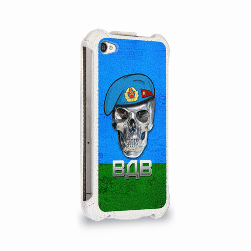 Чехол для Apple iPhone 4/4S flip  Фото 02, ВДВ