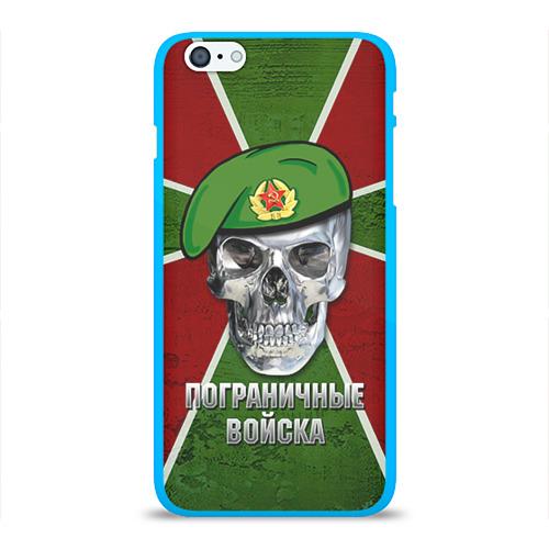Чехол для Apple iPhone 6Plus/6SPlus силиконовый глянцевый Пограничные войска