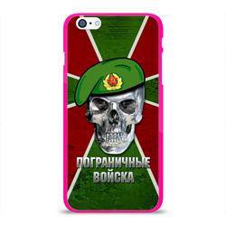 Чехол для Apple iPhone 6Plus/6SPlus силиконовый глянцевыйПограничные войска