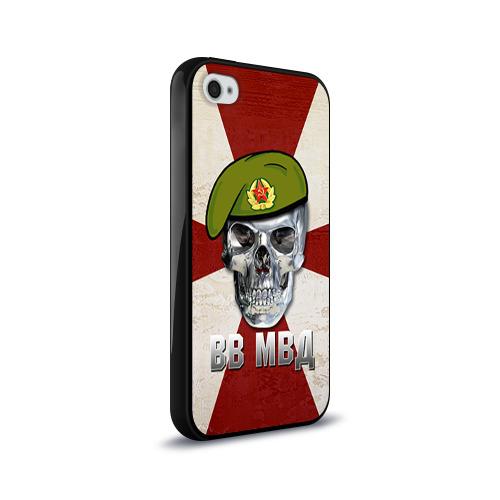 Чехол для Apple iPhone 4/4S силиконовый глянцевый  Фото 02, ВВ МВД