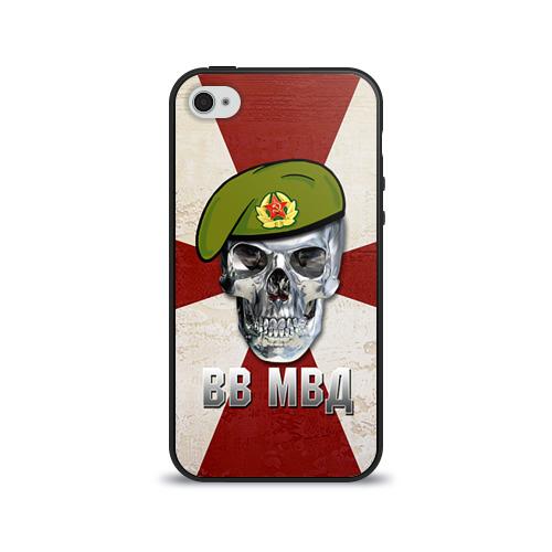 Чехол для Apple iPhone 4/4S силиконовый глянцевый  Фото 01, ВВ МВД