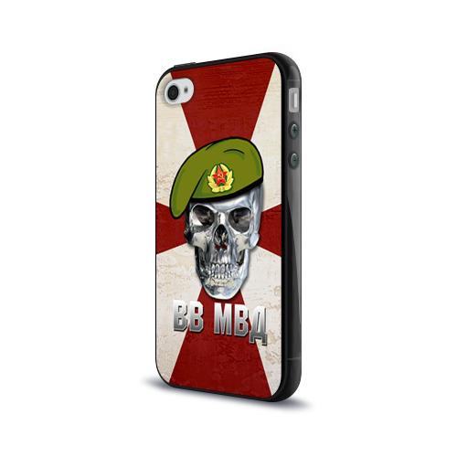 Чехол для Apple iPhone 4/4S силиконовый глянцевый  Фото 03, ВВ МВД