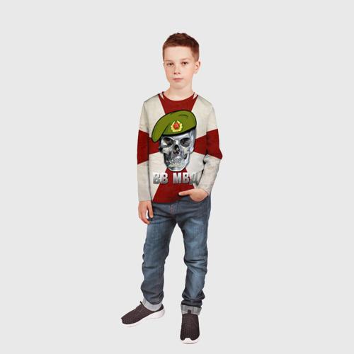 Детский лонгслив 3D  Фото 05, ВВ МВД