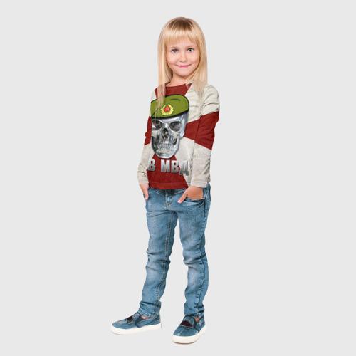 Детский лонгслив 3D  Фото 04, ВВ МВД