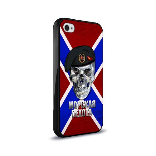 Чехол для Apple iPhone 4/4S силиконовый глянцевый  Фото 02, Морская пехота